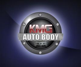 Logotype for KMG Auto Body